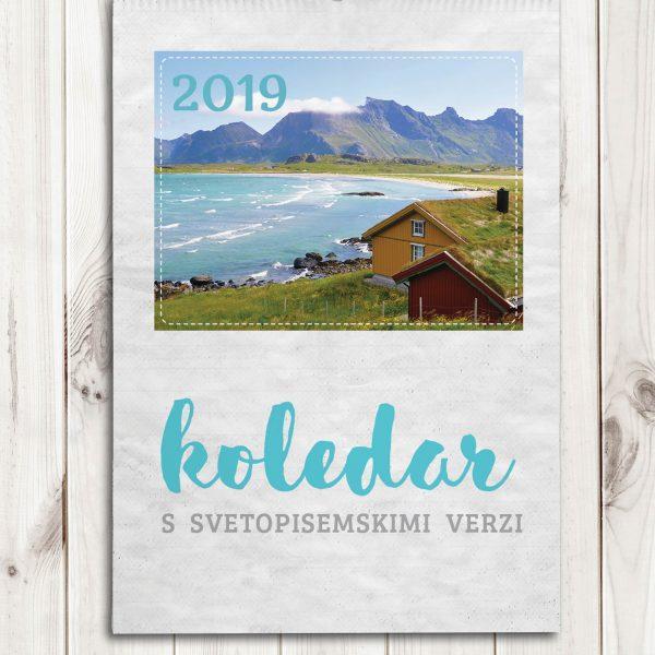 stenski koledar 2019