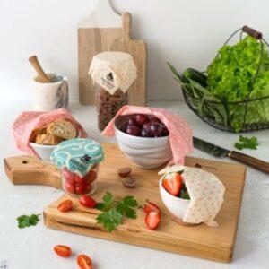 Povoščene krpice za shranjevanje živil
