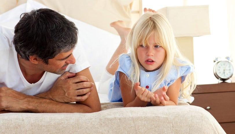 oče in hči pogovor